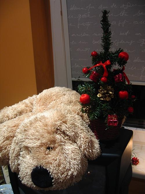 Šuniukas per Kalėdas